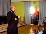 На открытии муз. школы в Пушкино